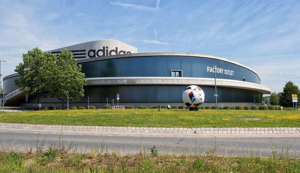 Штаб-квартира, главный офис Puma в Германии городе Херцогенауре.