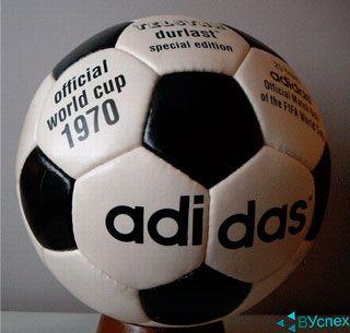 Дизайн мяча Adidas Telstar I и II участвовал в чемпионатах в 1971 - 1974гг.