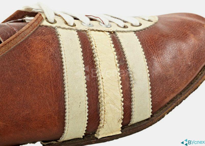 Бутсы Dassler (adidas) 1937г.