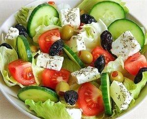 Полезный и вкусный салат Греческий