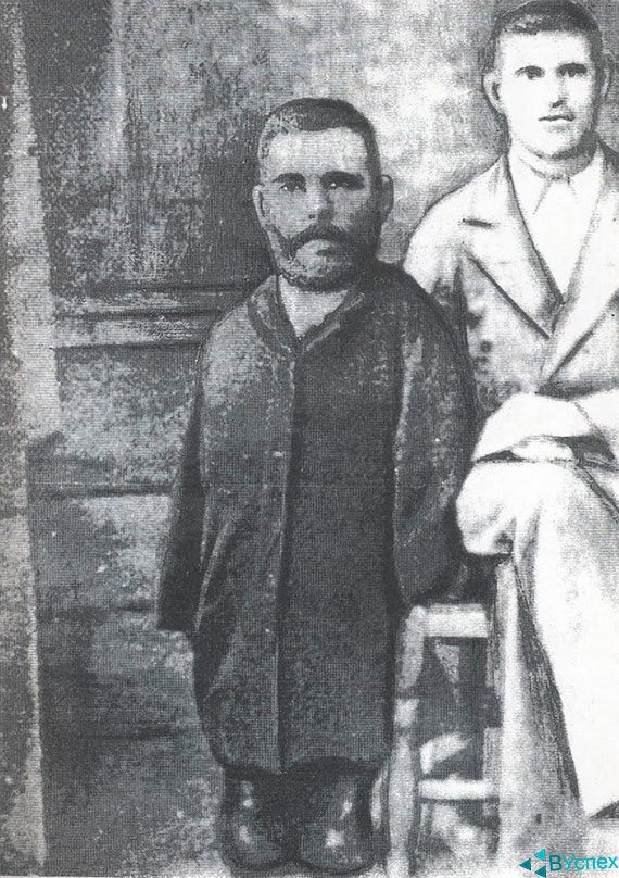 Фото Григория Журавлева с братом Афанасием.