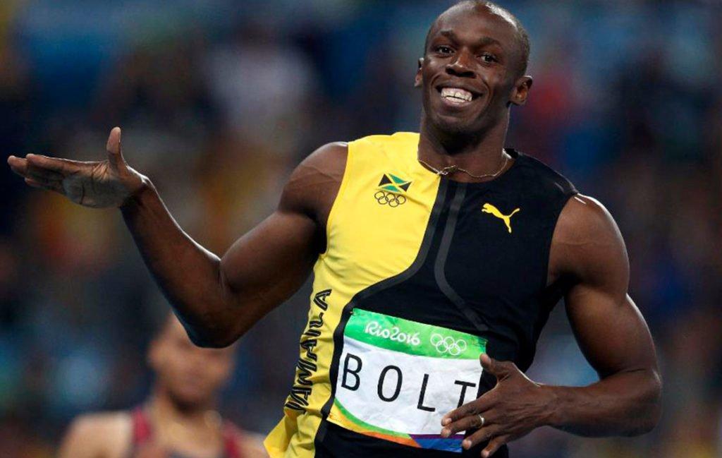 Усэйн Болт (Usain St. Leo Bolt) завоевал медали в Берлине, рекордсмен на дистанции в 100 и 200 метров, заключил контракт с Пума.