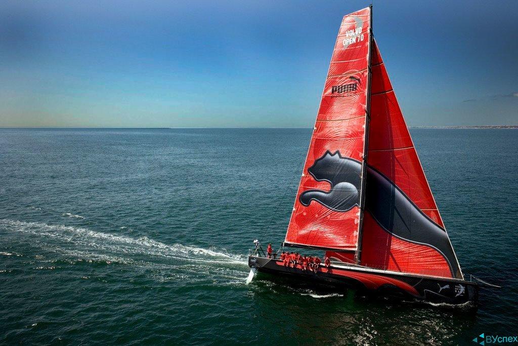 """Puma (Пума) выпускает впервые на регат """"Океанская Гонка Вольва"""" (Volvo Ocean Race), самая сложная гонка в мире на воде, протяженностью 37 000 морских миль."""