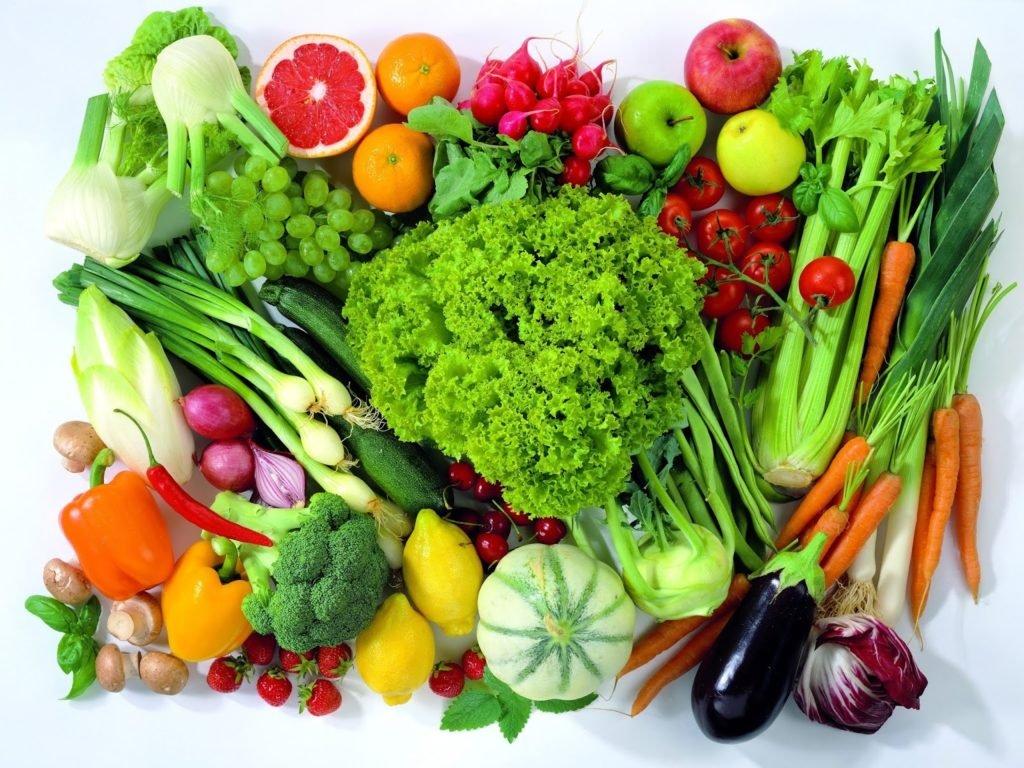 Правильное питание — продукты